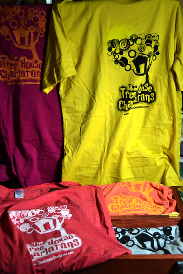 Tree House Charlatans Branded T-Shirts and Tanktops